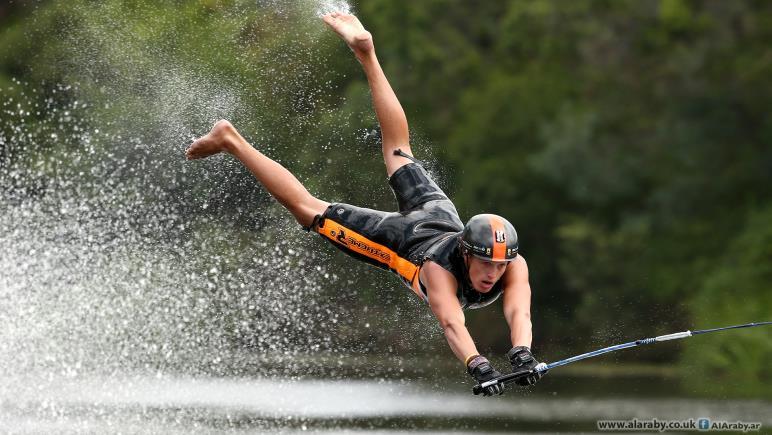 : بطولة استراليا للتزحلق  الحافي على الماء 2016