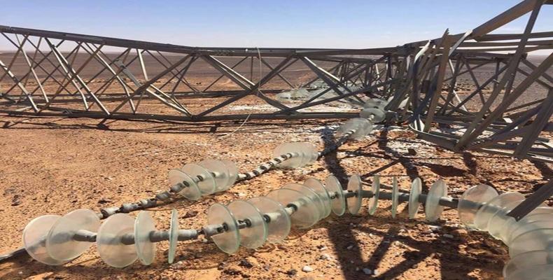 : تخريب أبراج الطاقة بالجنوب