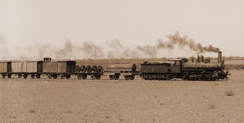 : القطار في ليبيا.. أصداء الماضي في صور
