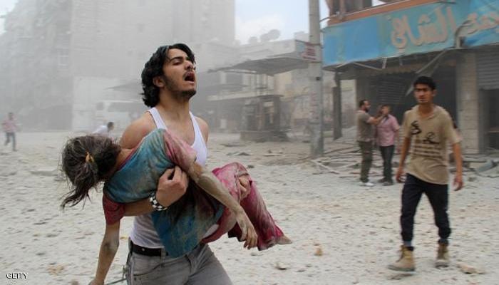: حلب.. صورة دامية، وعالم يتسلى