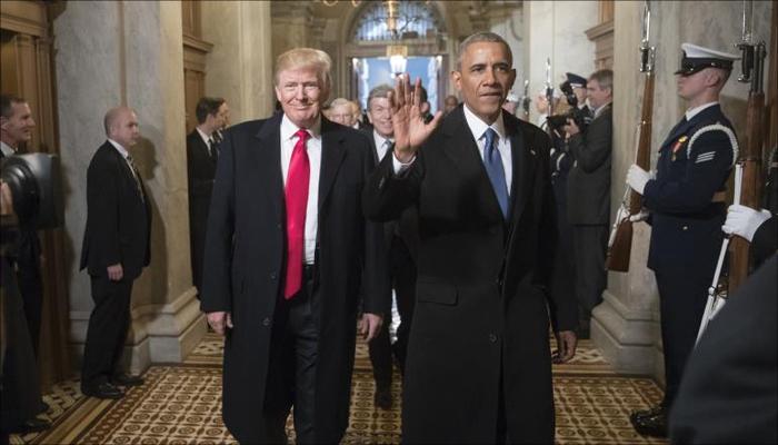 : تنصيب ترامب.. أبهة وجمال وغاز مدمع وخطاب متشنج
