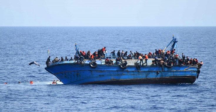 ليبيا المستقبل       فقدان 97 مهاجرا في حادث غرق قبالة السواحل الليبية