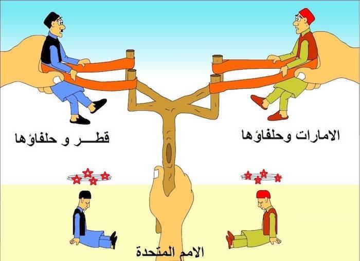 كاريكاتير العصفور: الحلفاء...