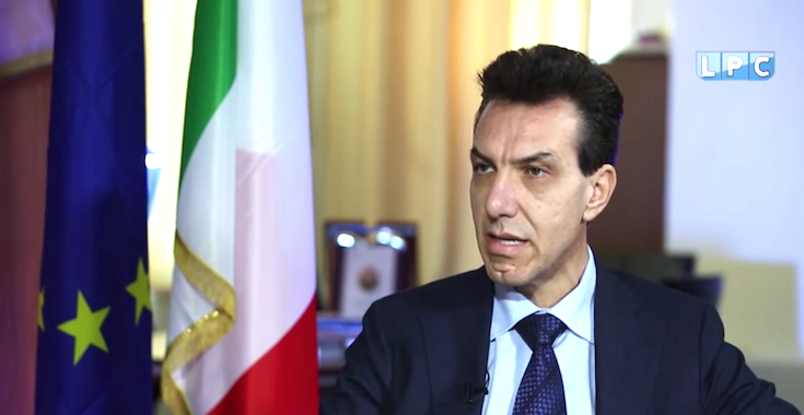 نتيجة بحث الصور عن السفير الايطالي في ليبيا