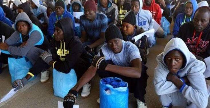 ليبيا المستقبل       السلطات الليبية تعيد 159 مهاجرا نيجيريا إلى بلادهم