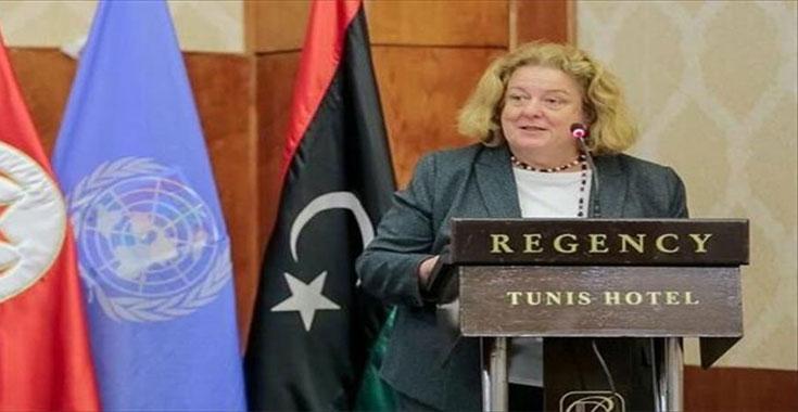 نتيجة بحث الصور عن نائبة الممثل الخاص لبعثة الأمم المتحدة في ليبيا