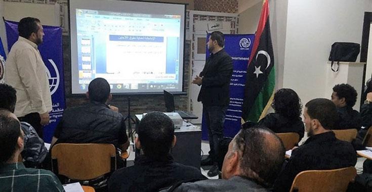 ليبيا المستقبل       تقديم دورات تدريبية في مجال حقوق الإنسان بمراكز إيواءفي ليبيا