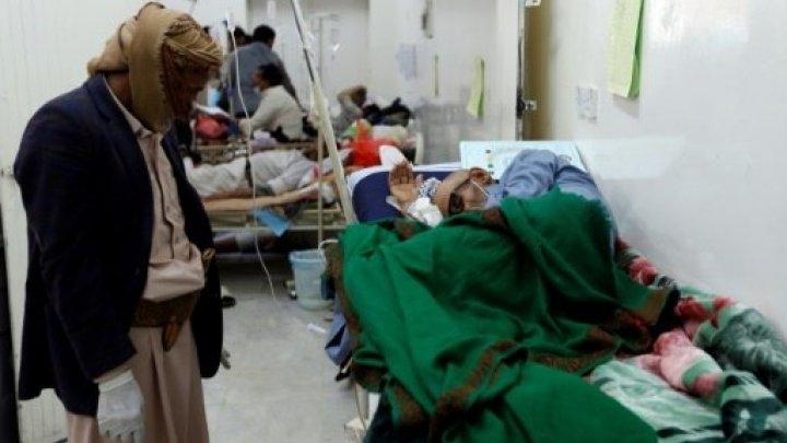 ظهور 200 ألف إصابة جديدة بالكوليرا في اليمن