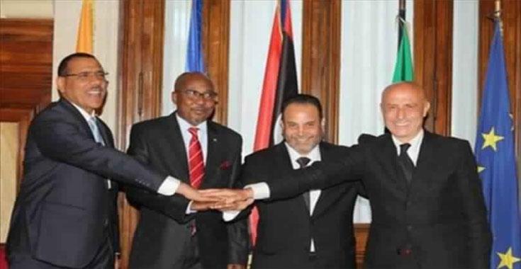 Image result for إيطاليا توقع اتفاقا مع ليبيا وتشاد والنيجر لوقف تدفق المهاجرين